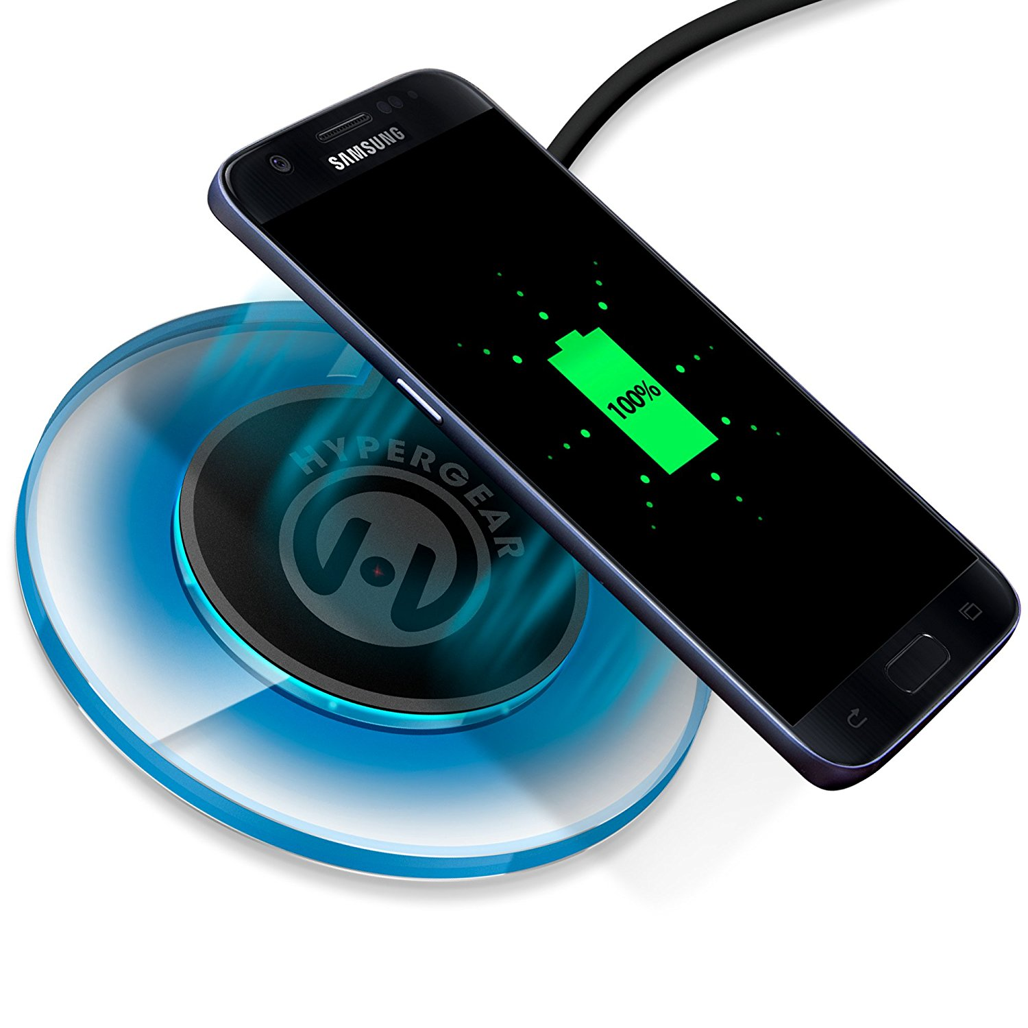 HyperGear UFO Wireless Charging Pad Image 2