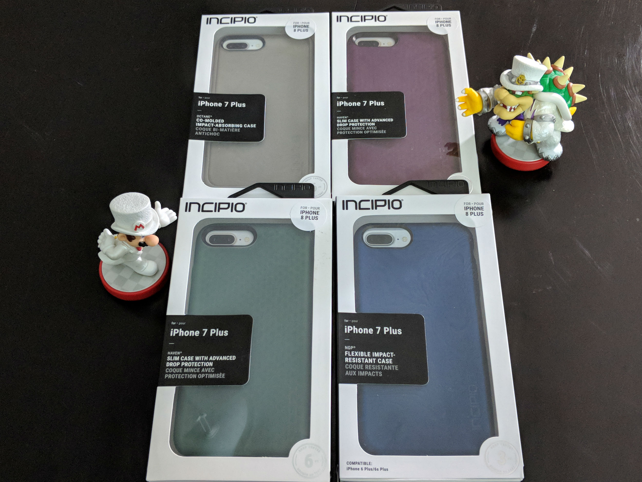 pretty nice 4d798 f49d4 Several Incipio phone cases for that new iPhone 8 Plus - TechDissected