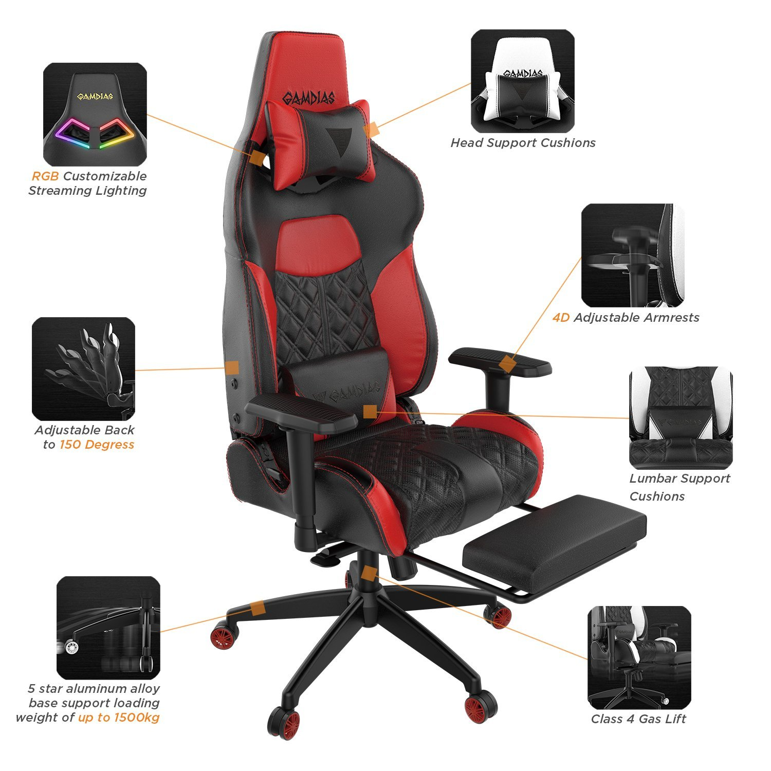Gamdias Achilles P1 Gaming Chair Image 2