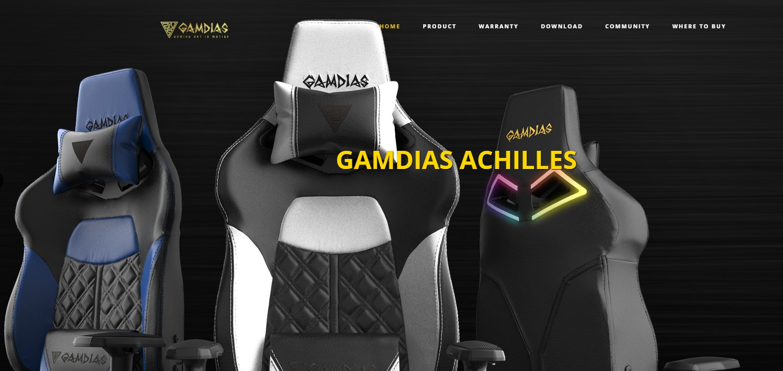 Gamdias Achilles P1 Gaming Chair(Black/Red)