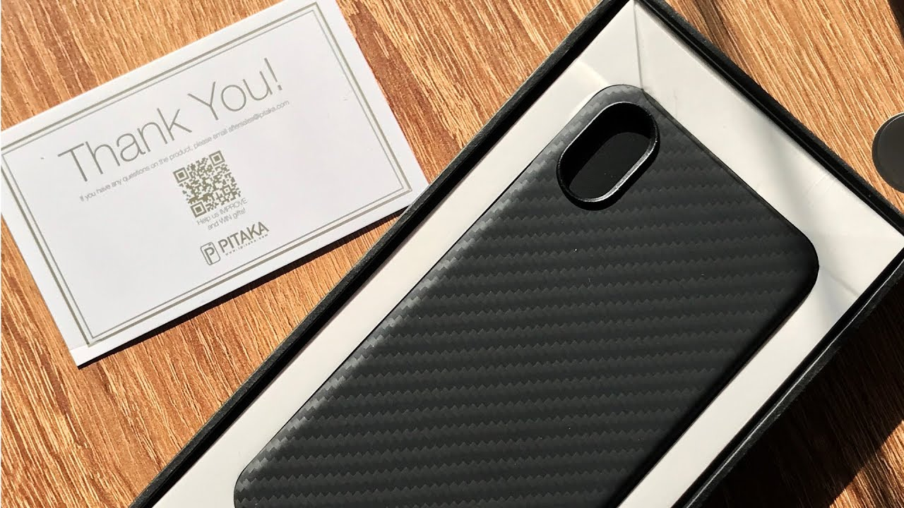 Pitaka iPhone X Magcase