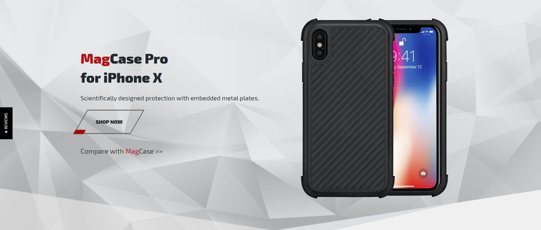 competitive price 74e9a 8c448 Pitaka MagCase Pro For iPhone X